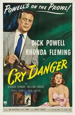Cry danger poster